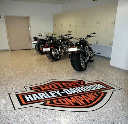custom floor graphics miami