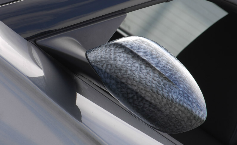 aligator skin car wrap