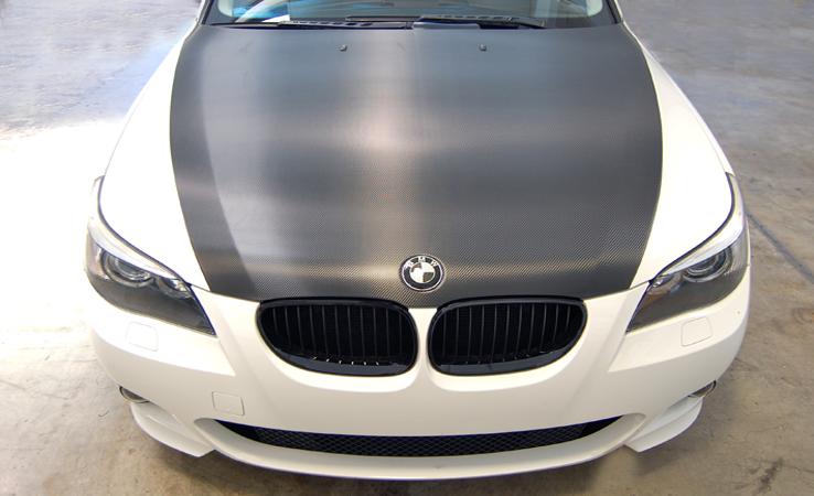 carbon fiber hood wrap