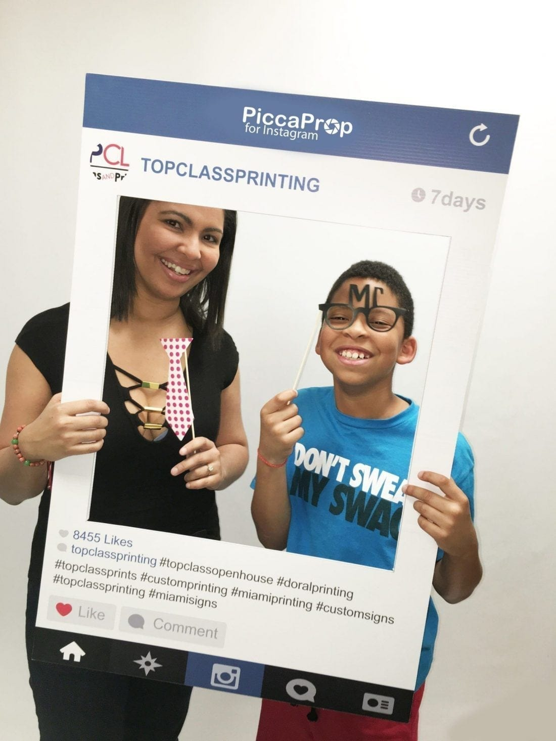 Wedding Photo Booth Props Instagram And Facebook Frames
