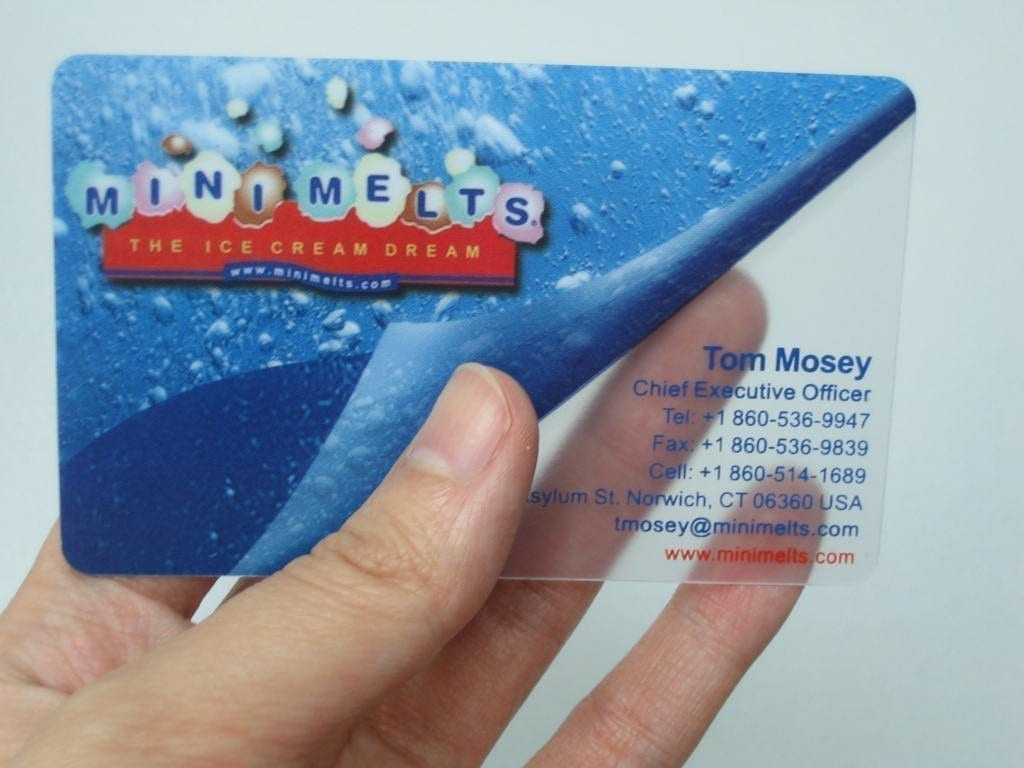Plastic Business Cards 20 pt