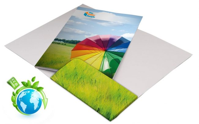 eco friendly custom presentation folders
