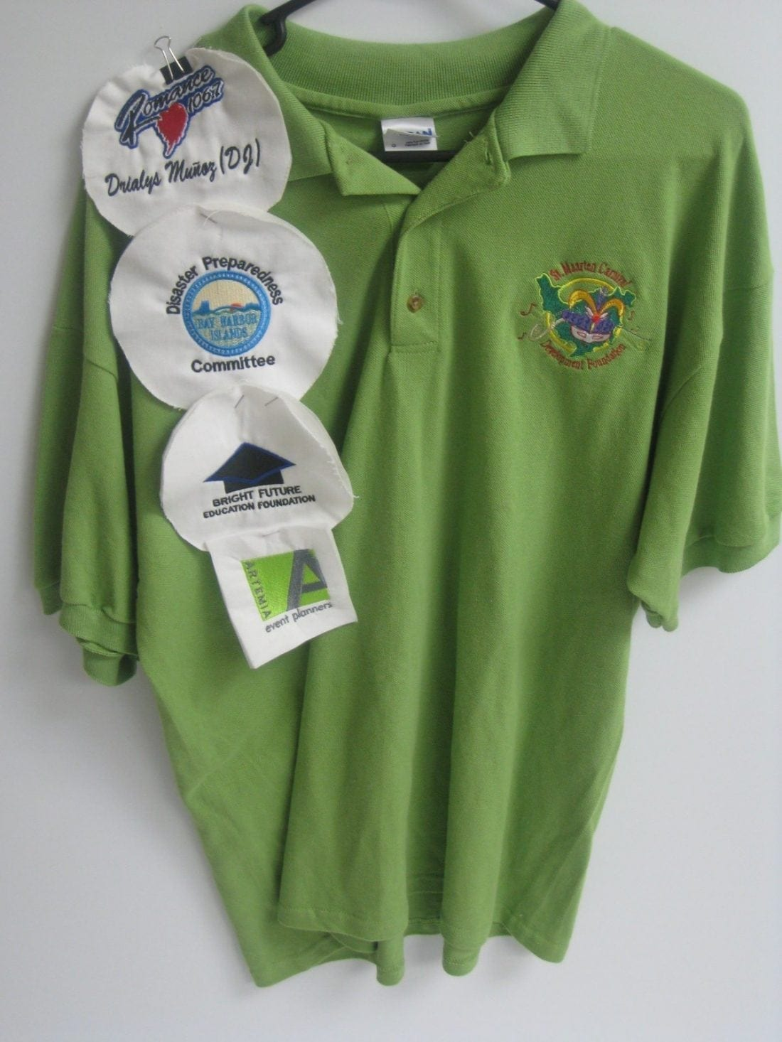 Apparel Embroidered Polos
