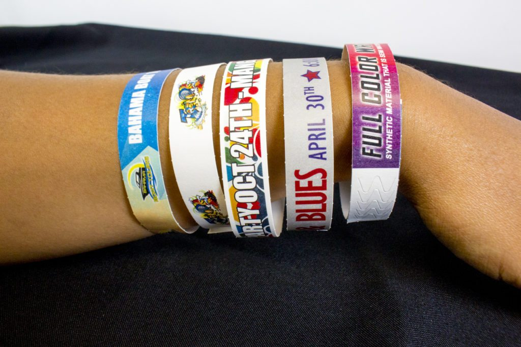 custom full color wristbands
