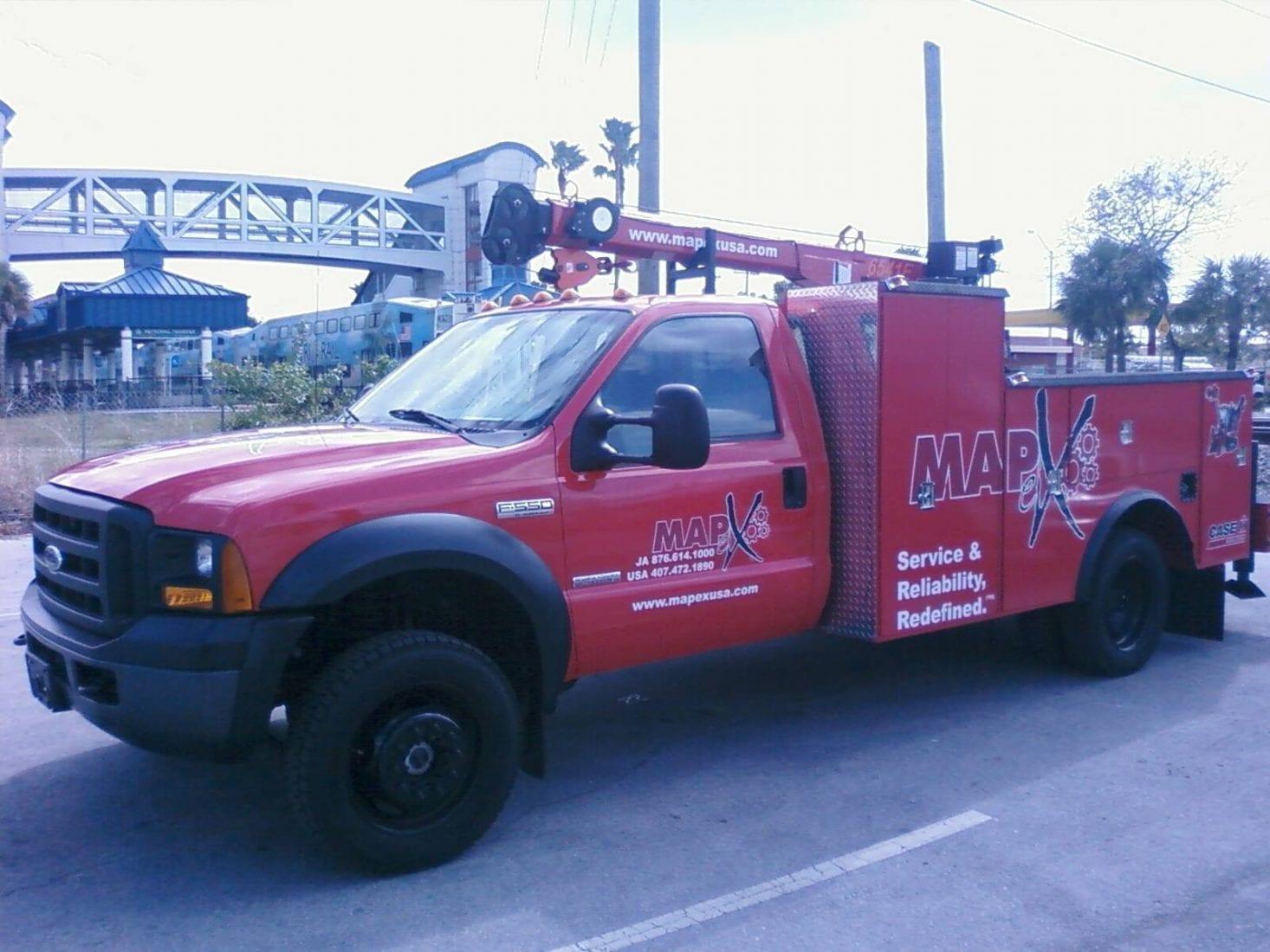 fleet truck wrap