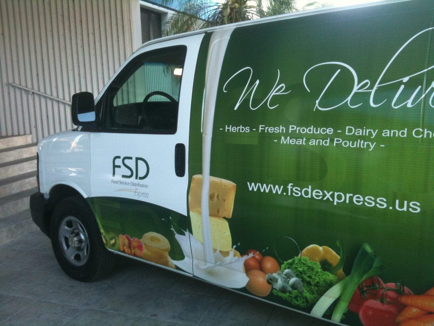 Vehicle Wraps: 'The Way to Go'