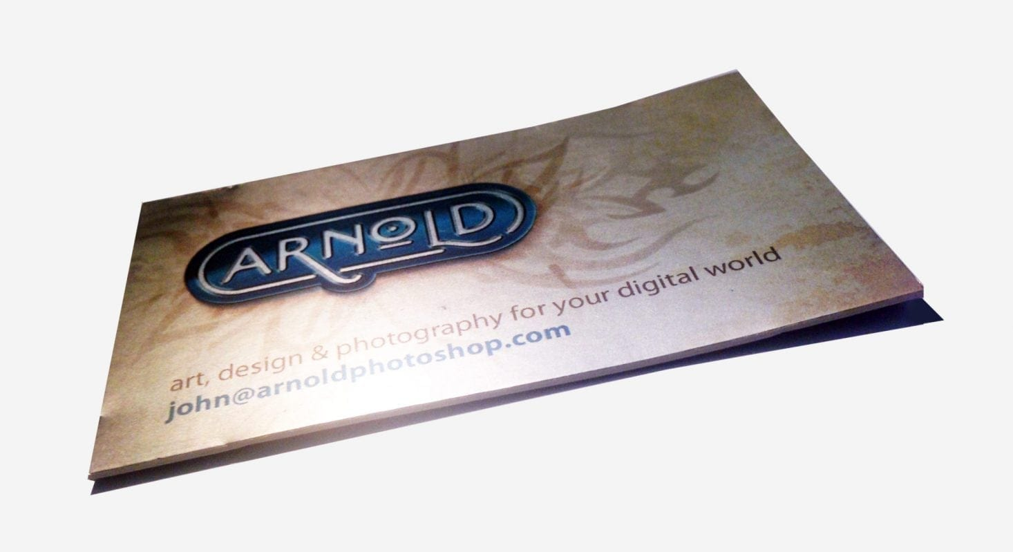 full color foil cards silk lamination