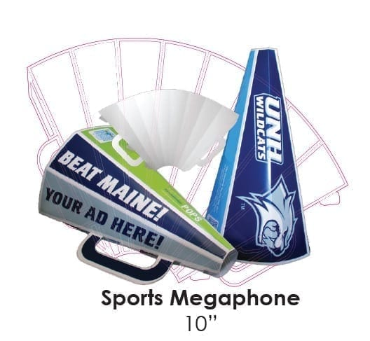 megaphone die cut