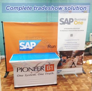 Facebook and Instagram Top Class Signs and Printing Complete Tradeshow Solution