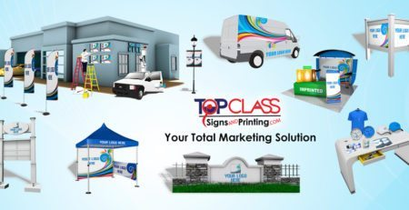 Top Class Signs and Printing Commercial printing and signage Miami Doral