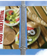 pole banner double