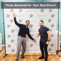 step and repeat backwall
