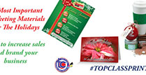 Top Class Signs and Printing  Most Important Marketing Materials for the Holidays Blog