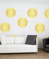 mandala boho wall vinyl