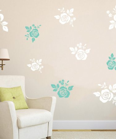 roses wall decals