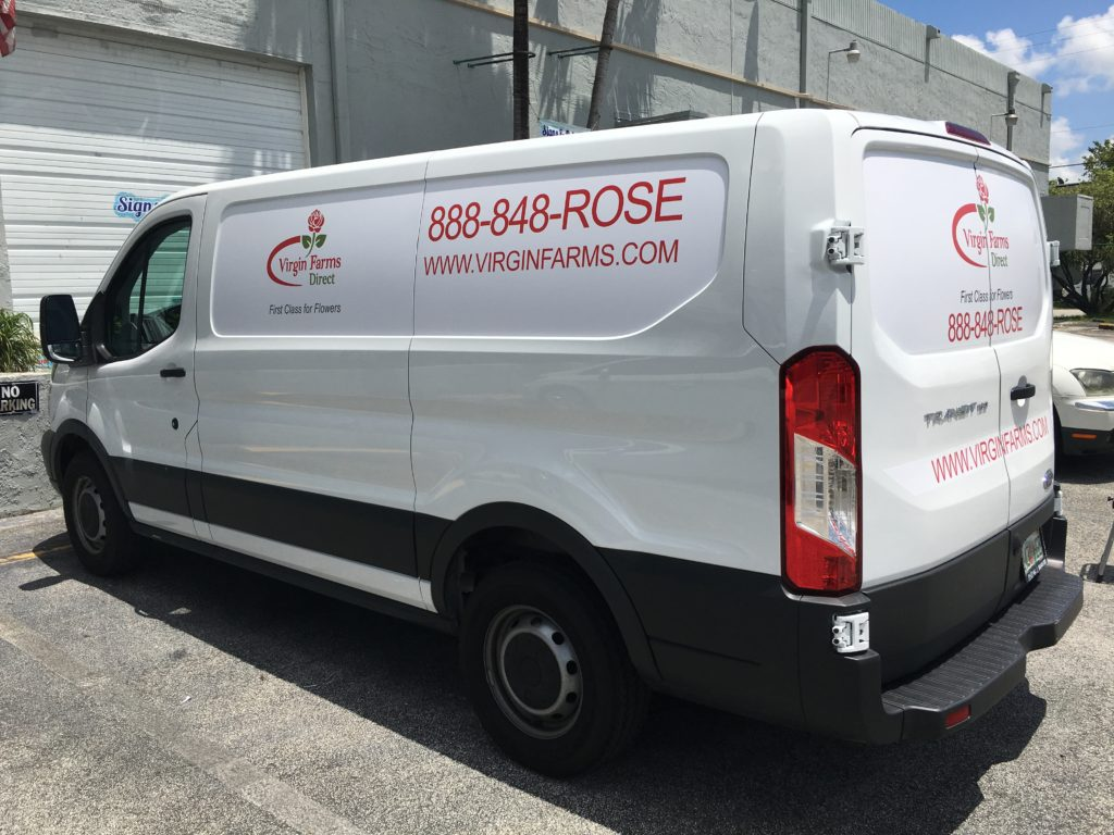 partial truck wraps in Miami