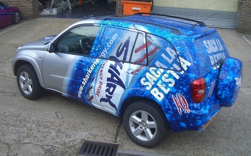 vehicle wraps companies in miami