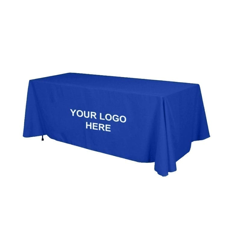 225 & Value Line 6 ft. Table Cover With 1 Color Imprint