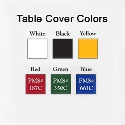 value line table covers colors