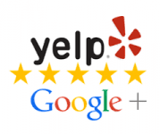 Yelp and Google Reviews