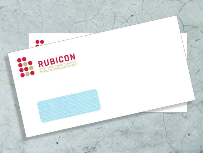 full color window envelope