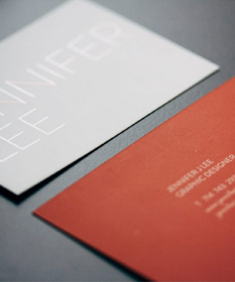 matte business cards 16 pt.