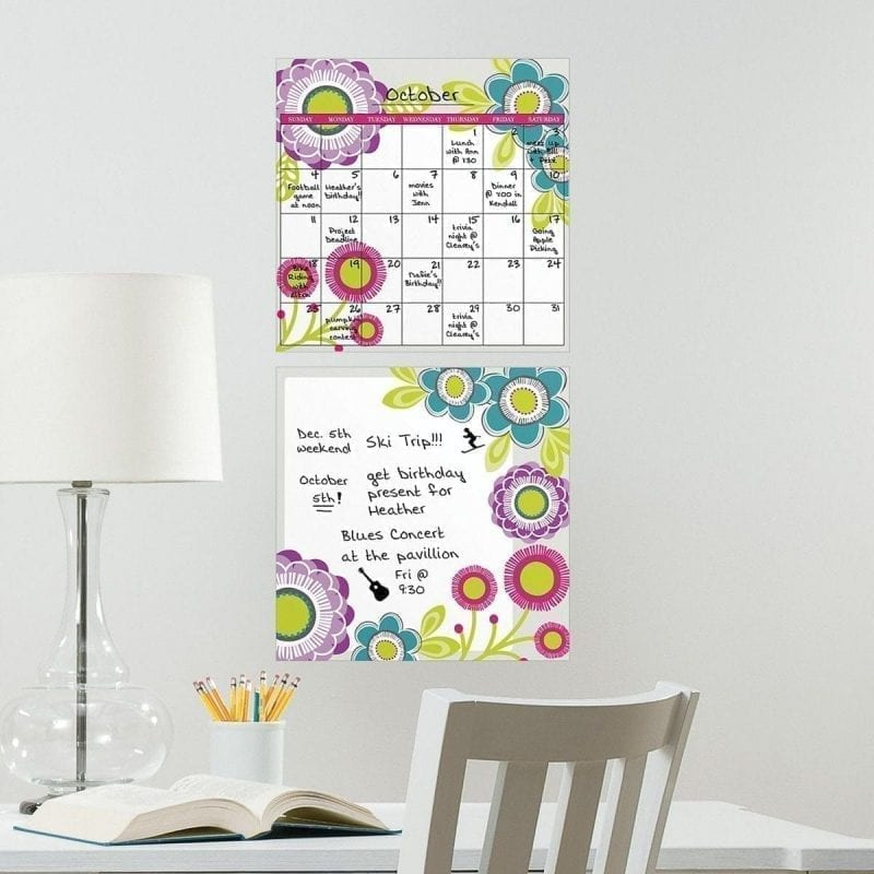 full color dry erase wall decals