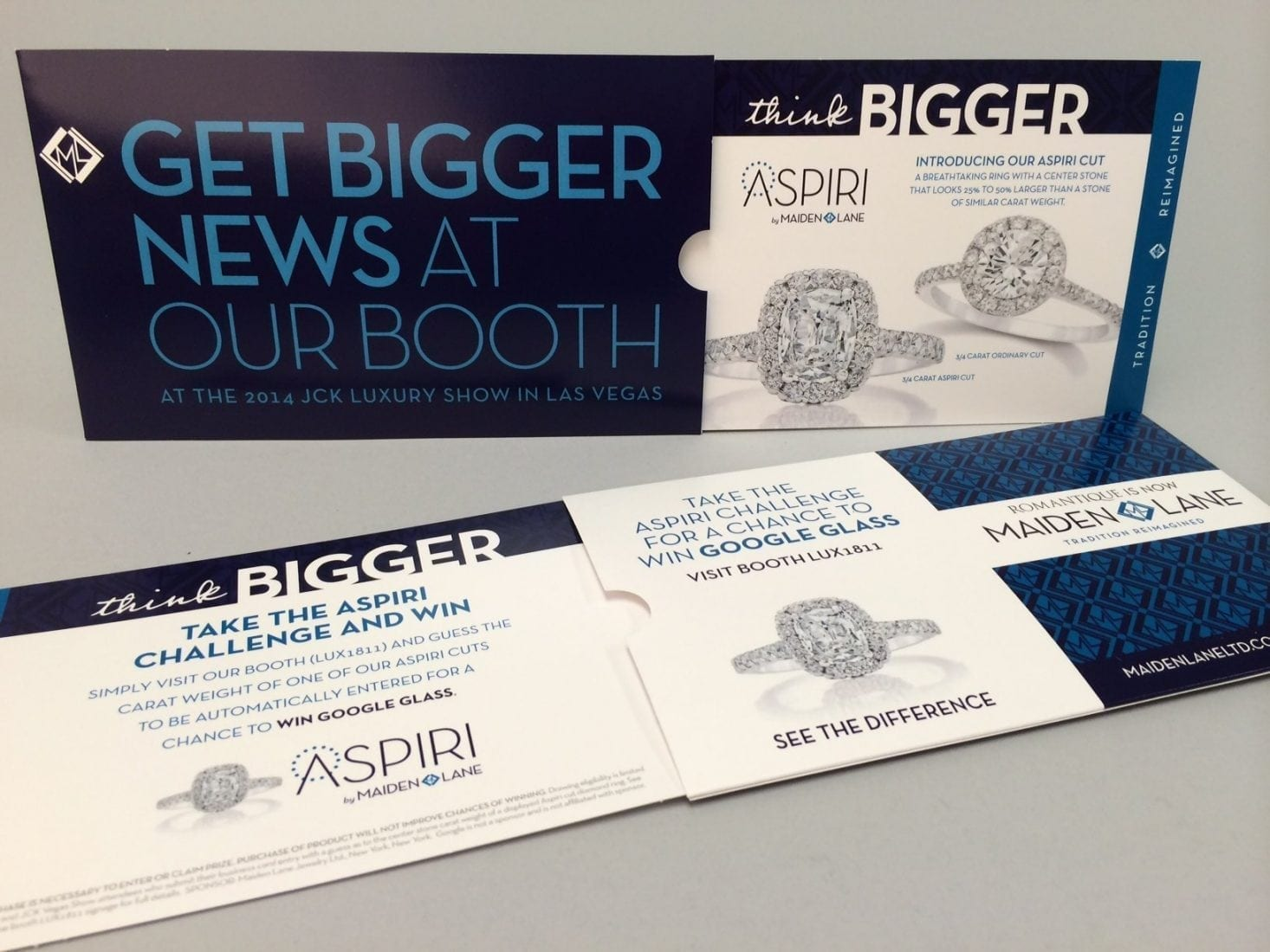 Marketing for a tradeshow in 3 stages