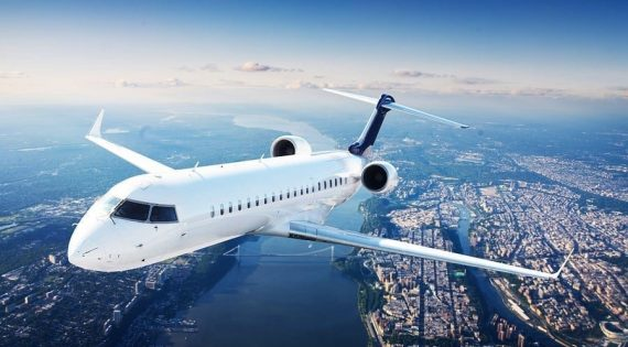Signs for Miami Aviation companies-