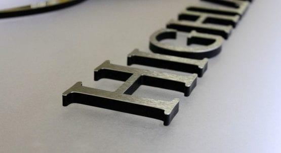Metal Laminate Logos