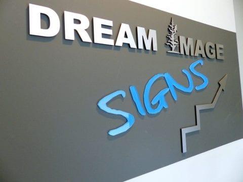 Homestead 3D office sign