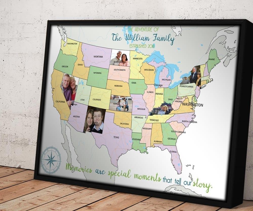 framed poster board