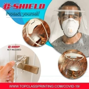 Corona Virus Face Shield Protection