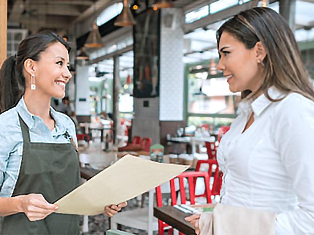 restaurant walk in brochures