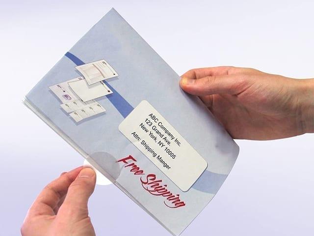 wafer self mailer brochures