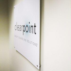 interior office signage